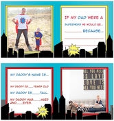 Image of Daddy Gift Album Template