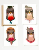 "Image of CARD SET ""Uccellini"" 