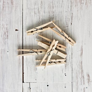 Image of Natural Wooden Pegs