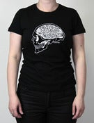 Image of Hard Head tee-shirt black - woman fit