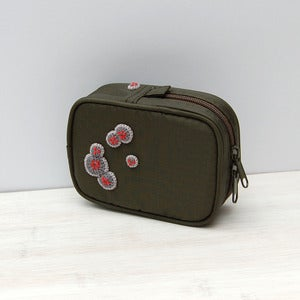 Image of Cute upcycled camera case with mould decoration