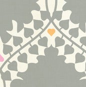 Image of leaf damask - fabric strike off
