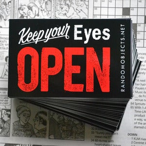 Image of OPEN sticker