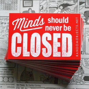 Image of CLOSED sticker