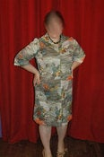 Image of Plus Size Vintage Zip Dress