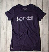 Gymdoll Logo Tee - Navy