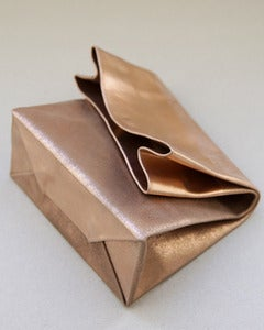 Image of SACO DE PAPEL PEQUENO/+ copper block