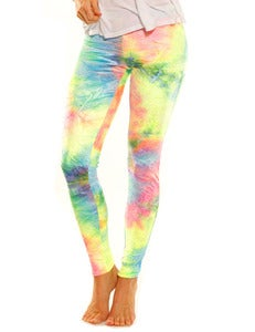 Image of COSMIC VELVET LEGGING PANT
