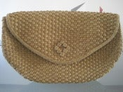 Image of Straw Clutch Purse