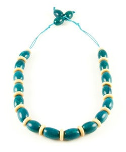 Image of Camajuro Natural Necklace Blue
