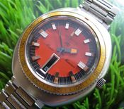 Image of MEGA-RARE LECOULTRE MASTER MARINER HPG DIVER DAY DATE - ORANGE!