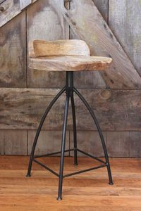 Image of Industrial Barstool