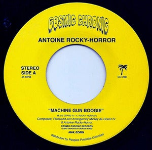 "Image of Antoine Rocky-Horror - ""Machine Gun Boogie"" 7"""