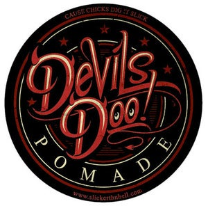 Image of Devils Doo Hair Pomade - 4oz Can