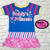 Image of **SOLD OUT** I'm Daddy's Princess Dress size 18-24 months