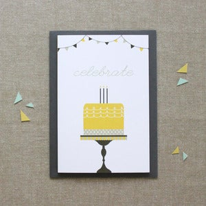 "Image of ""Fancy Cake"" Birthday Card"