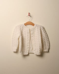 Image of c. 1980s egde to edge cardigan