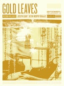 Image of Gold Leaves Album Release Poster