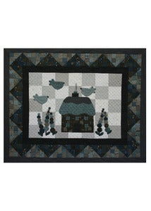 Image of Blue Bird Cottage Quilt