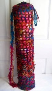 Image of Crochet This! Easier Sari Silk Yoga Mat Bag Pattern