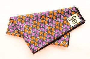 Image of Digital Wave Pocket Square