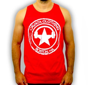 Image of CAVATA Seal Red Tank - Guys