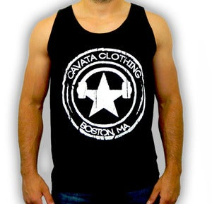Image of CAVATA Seal Black Tank - Guys
