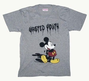 Image of Wasted Youth Tee By PUREFILTH