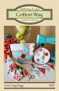 Image of Sew Easy Bags - Paper Pattern #919