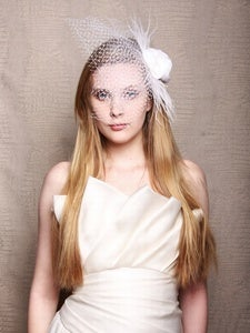 Image of Christian Siriano for SinCerae Head Piece No. 2 (White)
