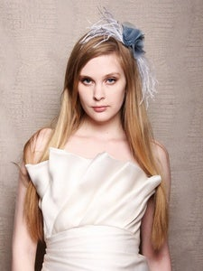 Image of Christian Siriano for SinCerae Head Piece No. 5 (Blue/White)