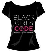 Image of Black Girls Code T-shirt: Design 2