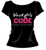 Image of Black Girls Code T-shirt: Design 3