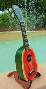 Image of Kala  Watermelon Uke with uke bag
