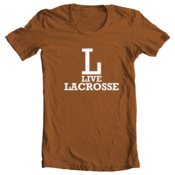 Image of L-Live Lacrosse - Texas Orange