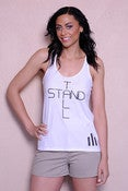 Image of NEW White Stand Tall Tank