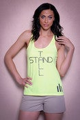 Image of NEW Neon Yellow Stand Tall Tank