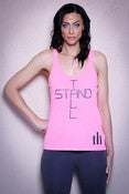 Image of NEW Neon Pink Stand Tall Tank