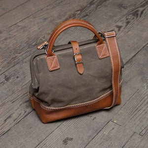Image of Wood&amp;Faulk Northwesterner 12&quot; Tan on Tan