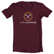 Image of Live Lacrosse II - Maroon