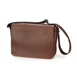 Image of Leather Messenger