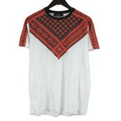 Image of Givenchy Spring Summer 2010 Red Keffiyeh Print T-Shirt Rare