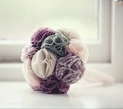 Image of Fabric Bridal Bouquet