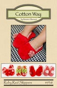 Image of Ruby Red Slippers - PDF Pattern #338