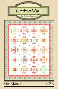 Image of Star Blossoms - PDF Pattern #945