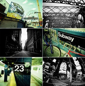 Image of NYC photograph print pack #1 by Ryan Russell