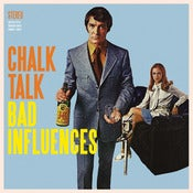 "Image of Chalk Talk- Bad Influences 12"" Vinyl"