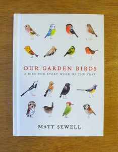 Image of Our Garden Birds by Matt Sewell