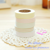 "Image of Fabric tape ""raya gris"""