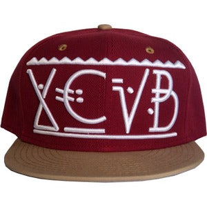 Image of XCVB - Arctic Snapback Red and Tan